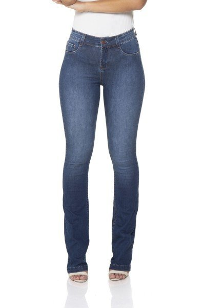 dz2442 12 calca jeans boot cut media classica denim zero frente 02 prox