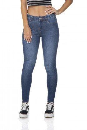 1e8d0f49b9 Calça Jeans Feminina Skinny Média Clássica Bigodes - DZ2610-12