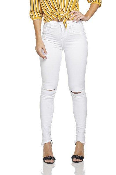 dz2694 12 calca skinny media branca frente prox