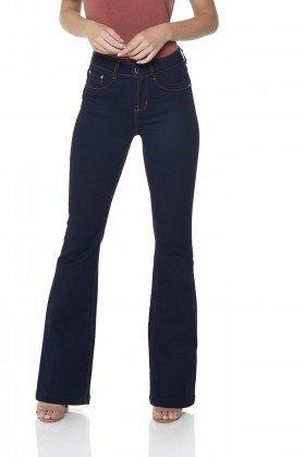 dz2375 12 calca jeans flare amaciada denim zero frente prox
