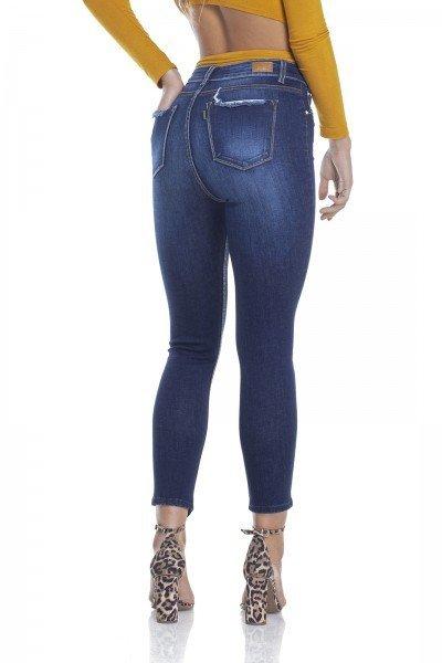 f6883ea34d dz2912 calca jeans skinny media cropped ponta na barra costas crop denim  zero