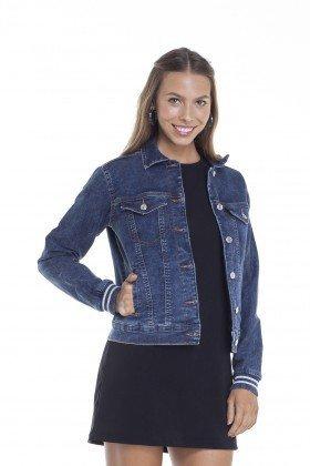 dz9100 jaquet jeans regular elastano frente crop denim zero