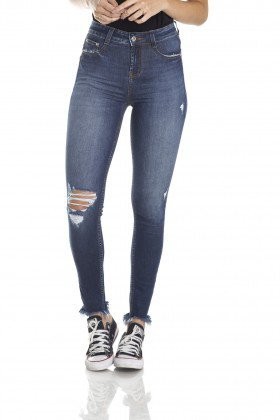dz2974 calca skinny media cigarrete rasgos frente crop denim zero