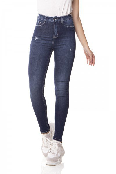 dz3065 calca jeans skinny cintura alta hot pants cigarrete denim zero frente 01 prox