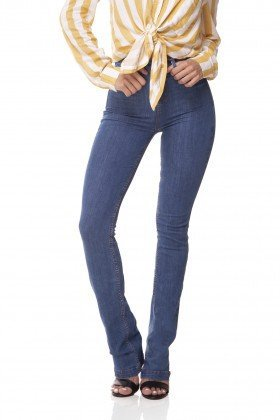 dz3069 a calca jeans boot cut media jeans medio denim zero frente 02 prox