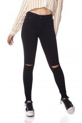 dz3078 b calca jeans skinny media com rasgo no joelho denim zero frente prox