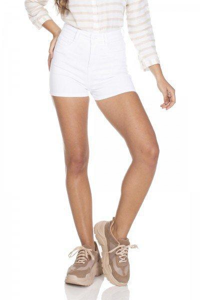 dz6313 shorts jeans pin up branco denim zero frente prox