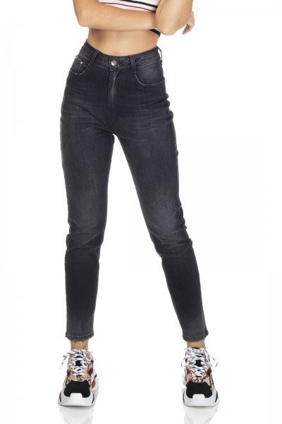 dz3112 calca jeans mom fit escura denim zero frente 02 prox