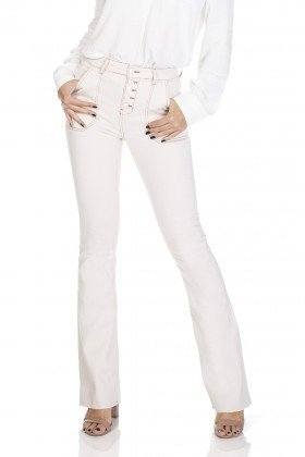 dz3117 calca jeans flare media com botoes denim zero frente 01 prox