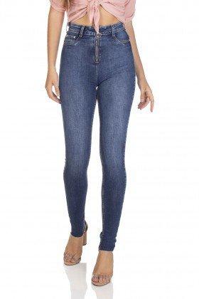 dz3105 calca jeans skinny cintura alta hot pants com ziper denim zero frente 01 prox