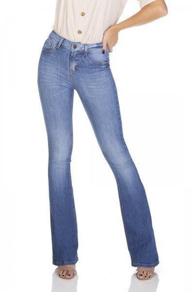dz3109 calca jeans flare media denim zero frente 01 prox