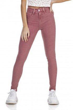 dz3125 calca jeans skinny media cigarrete mineral red denim zero frente prox