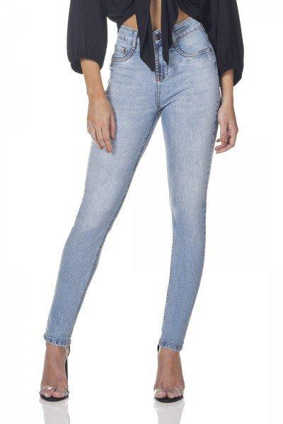 dz3157 calca jeans skinny media denim zero frente prox