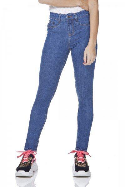 dz3166 calca jeans skinny media denim zero frente prox