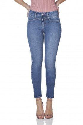 dz3152 calca jeans feminina skinny cigarrete denim zero frente prox