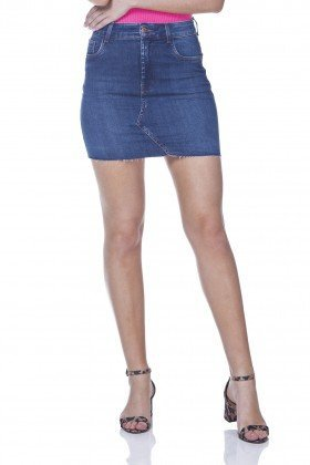 dz7104 saia jeans tubinho denim zero frente prox