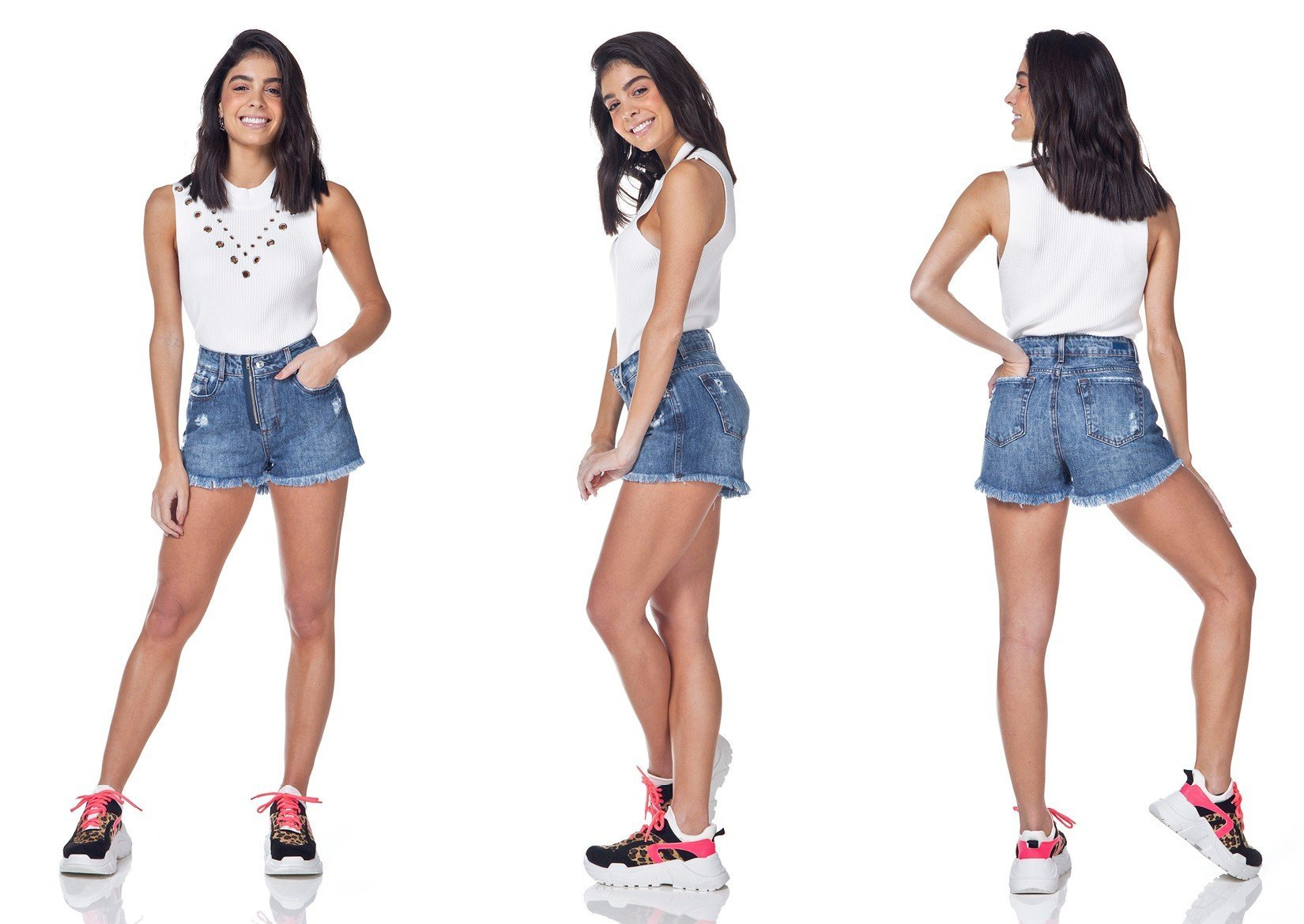 dz6320 shorts jeans young denim zero tripla