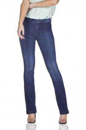 dz3206 calca jeans boot cut recorte frontal denim zero frente prox