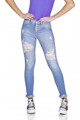 dz3199 calca jeans skinny cigarrete rasgada denim zero frente prox