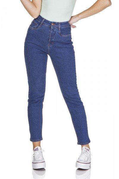dz3209 calca jeans mom fit estonada denim zero frente prox