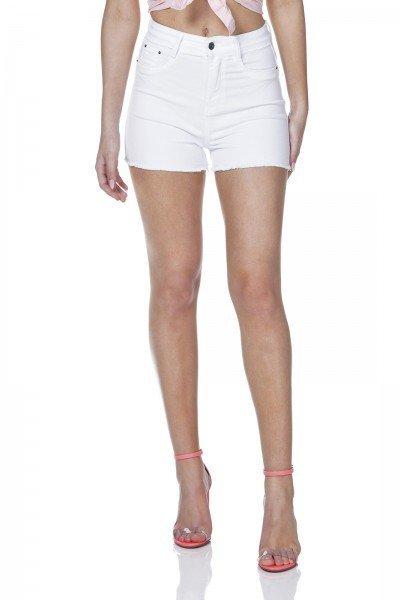 dz6327 shorts jeans pin up branco denim zero frente prox