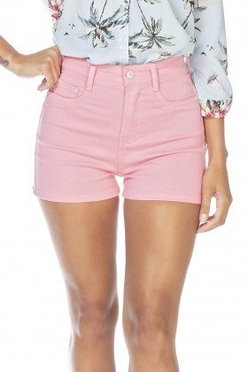 dz6342 shorts jeans feminino pin up fru fru denim zero frente detalhe