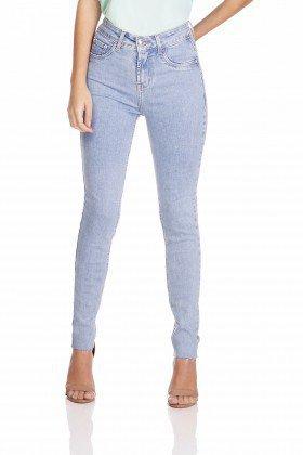 dz3255 calca jeans feminina skinny media cigarrete denim zero frente prox