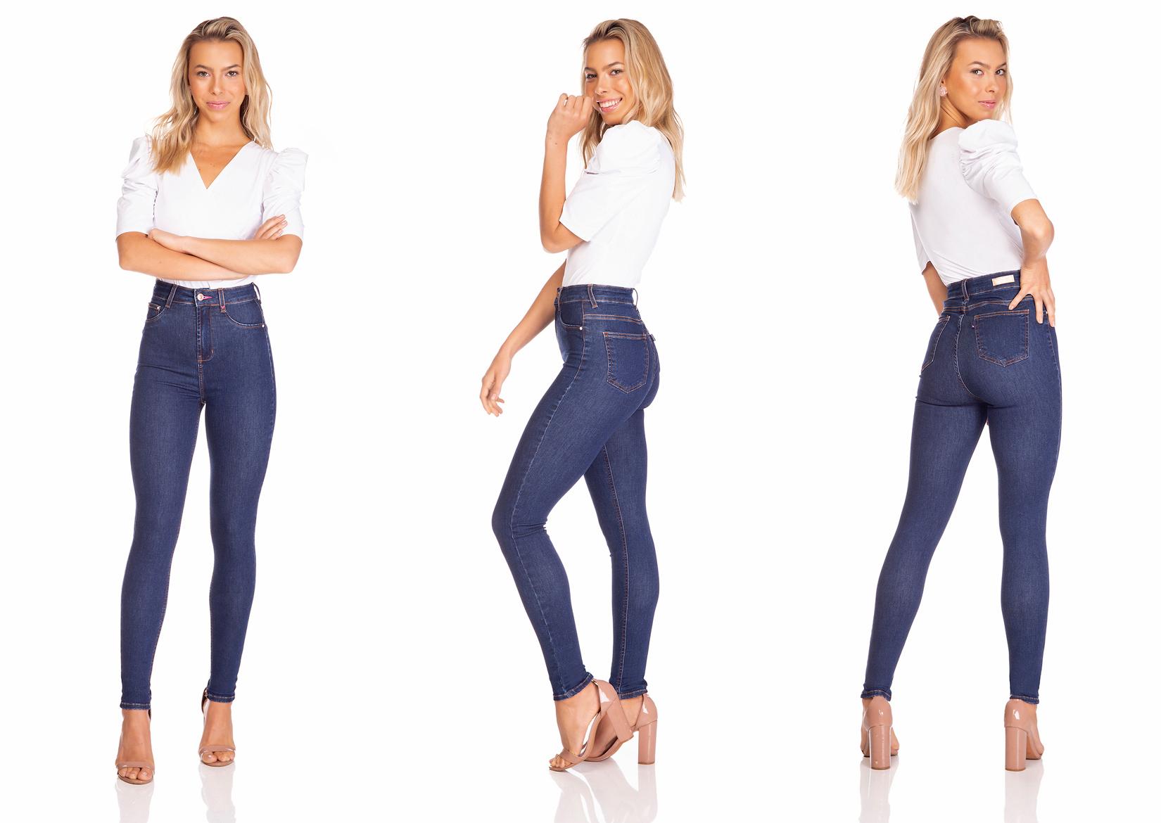 dz3258 calca jeans feminina skinny hot pants estonada denim zero tripla
