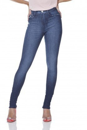 dz3097 calca jeans skinny media com puidos denim zero frente prox