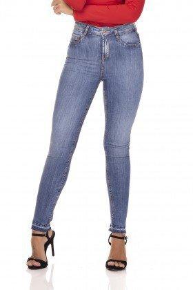 dz3235 calca jeans skinny media cigarrete barra dupla denim zero frente prox