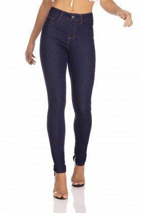 dz3263 calca jeans feminina skinny media basica denim zero frente prox